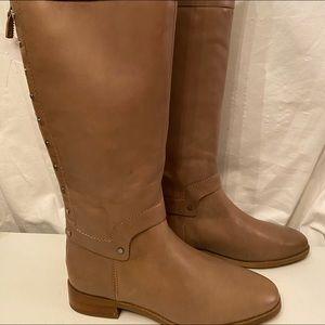 Frack Sarto tan kneehigh boots NEW
